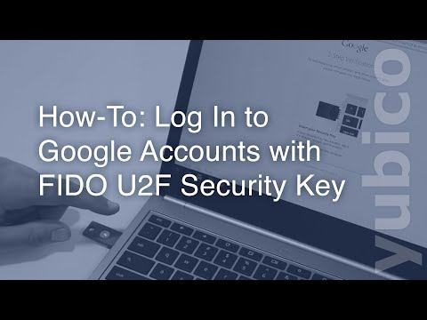 Video for google U2F setup