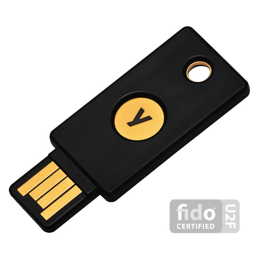 security key with usb type-a